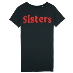 Image of SISTERS T-SHIRT DRESS