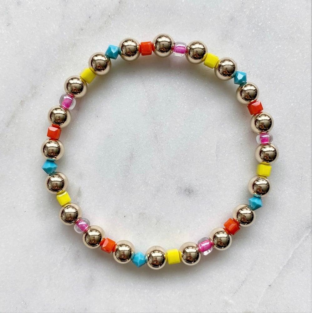 Image of Rainbow Gold Bracelet
