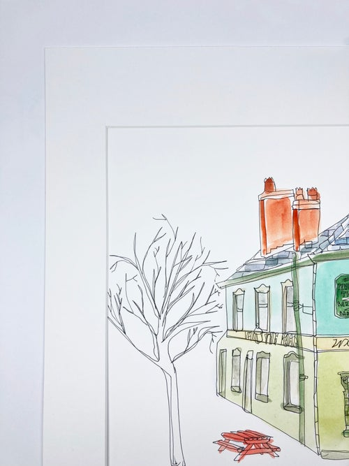 Image of The Peveril of the Peak Giclee Print.