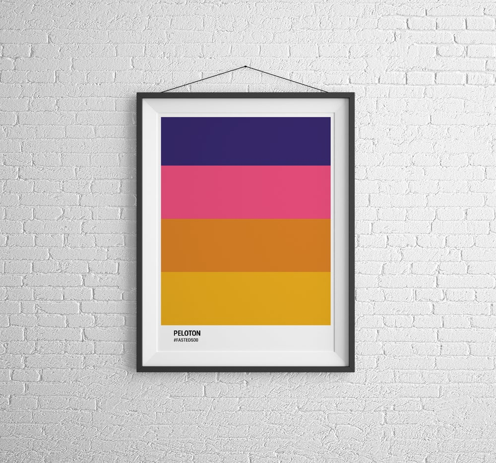 Peloton Prints - Fasted500