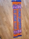 Orange 55 Titles and League Champions Scarf