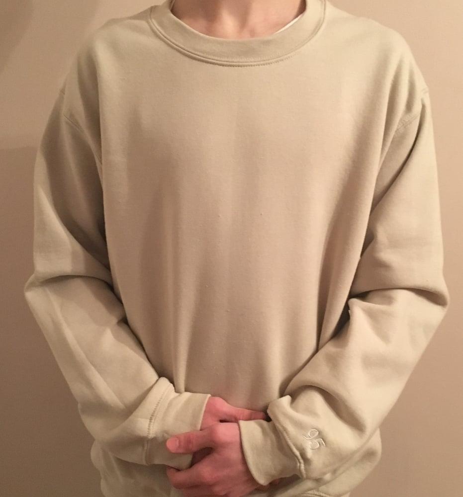 Image of Sand Oversized Sweatshirt