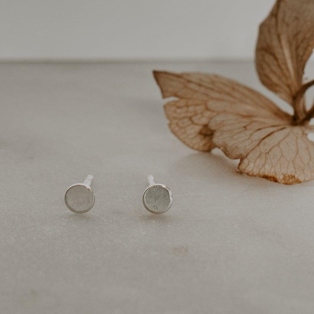 Image of Mini Dot Earrings