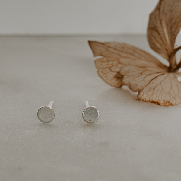 Image of Mini Dot Earrings