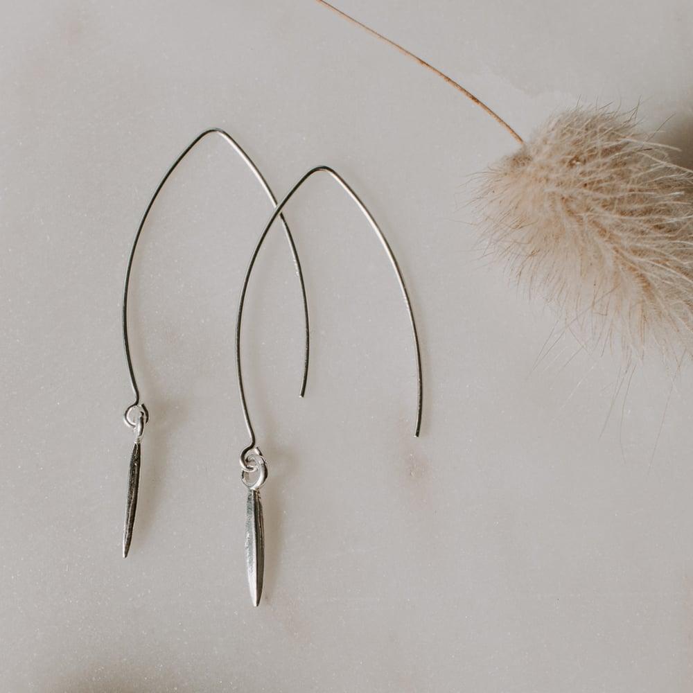 Image of Spear Drop Earrings