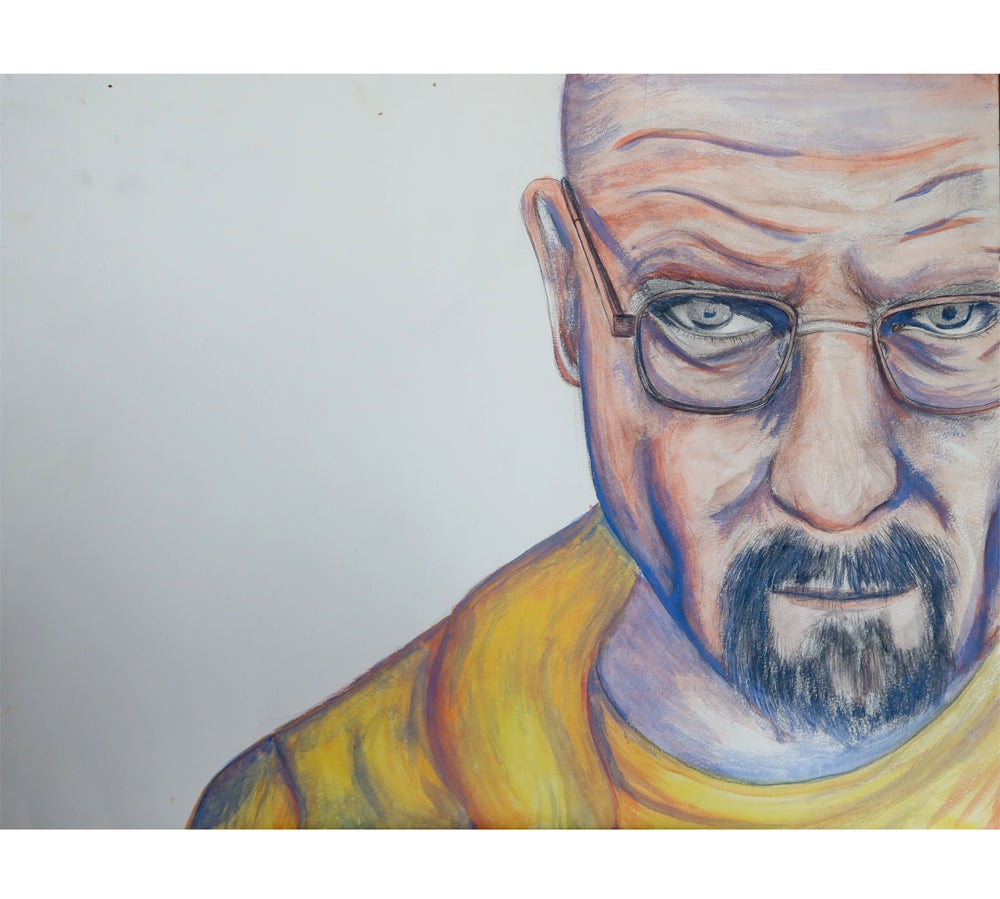 Image of Walter White Watercolor