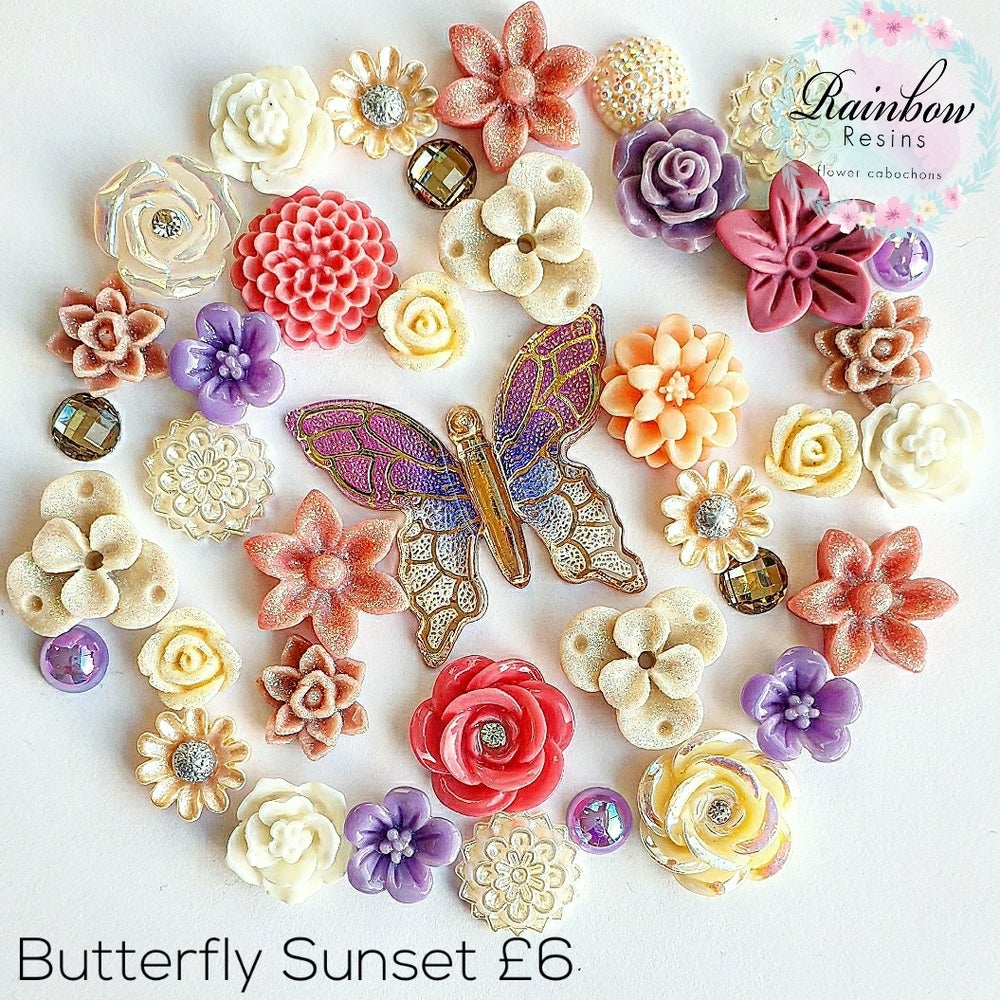 Image of Butterfly Sunset