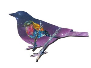"Image of ""Lilac-breasted Roller"" Original Painting"