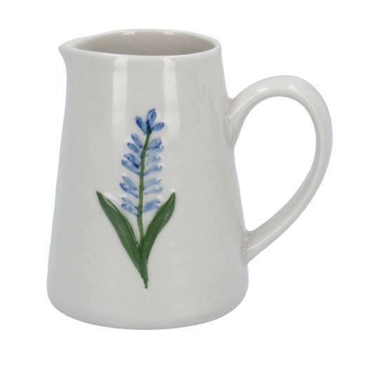 Image of Gisela Graham Mini Lavender Ceramic Jug