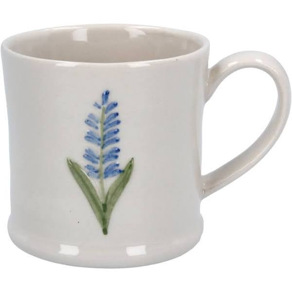 Image of Gisela Graham  Mini Ceramic Lavender Mug