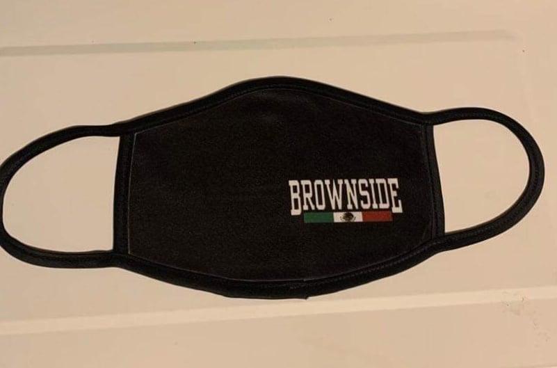 Image of BROWNSIDE LOGO FACE MASK (COLOR)