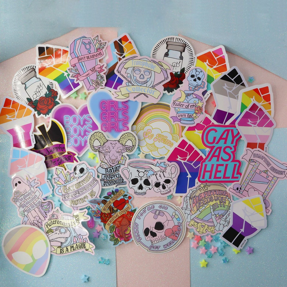 Image of Large vinyl stickers saver bundles
