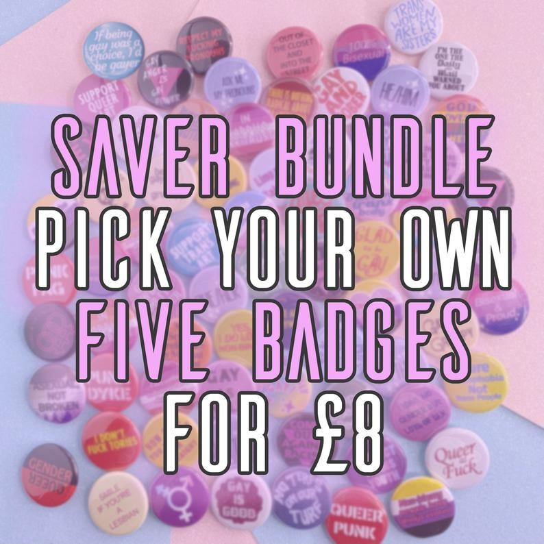 Image of Button Badge Saver Bundles