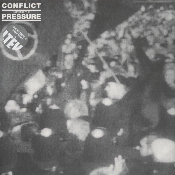 "CONFLICT - ""Increase The Pressure"" LP - GREY VINYL"