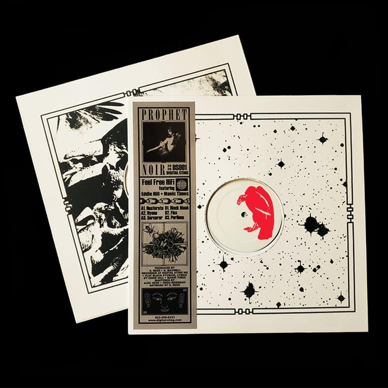 "Image of Feel Free Hi Fi Feat. Eddie Hill & Manic Times- Prophet Noir 12"" Vinyl  PRE-ORDER"