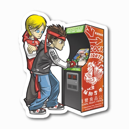 Image of Arcade Sticker