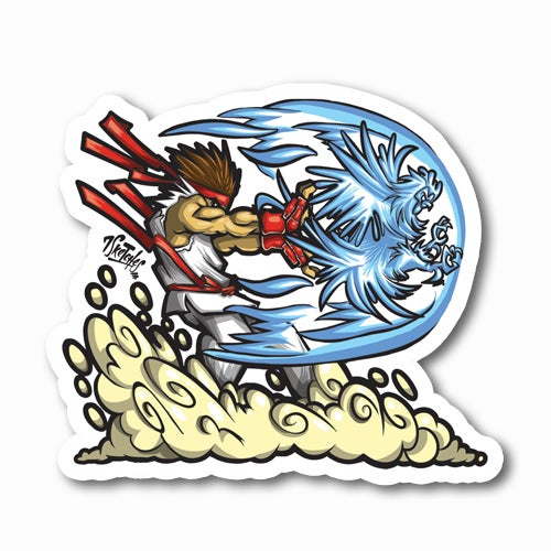 Image of Hadouken Sticker