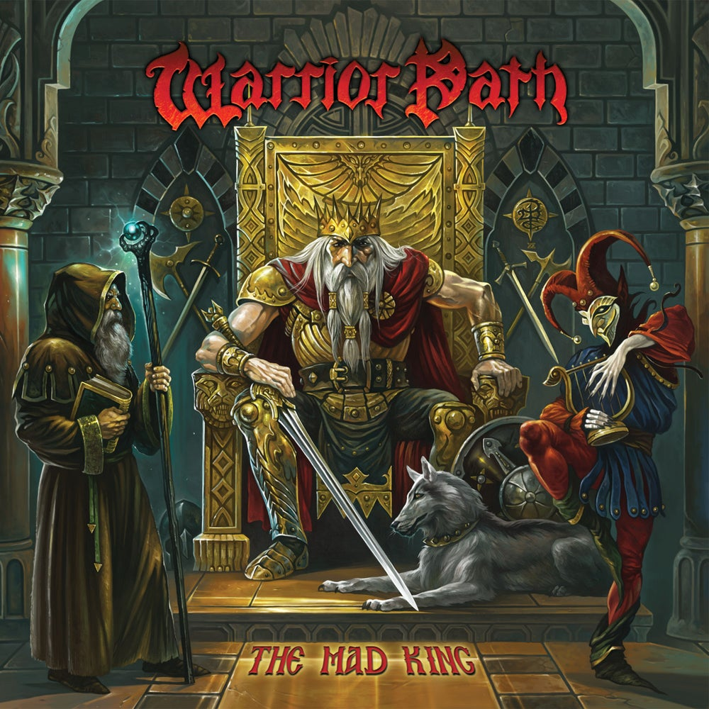 WARRIOR PATH - The Mad King CD