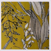 Image of Tissu: Les herbes folles all mustard