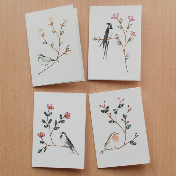 Image of Birds of the Seasons Cards