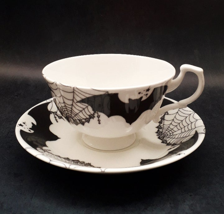 Image of Vampire Teacup and saucer