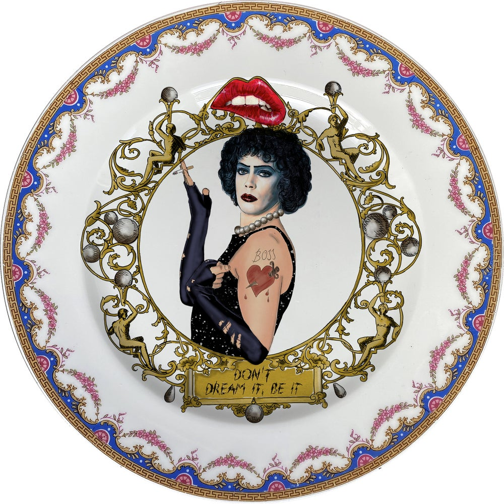 Image of TRHPS - Vintage fine china Plate - #0750