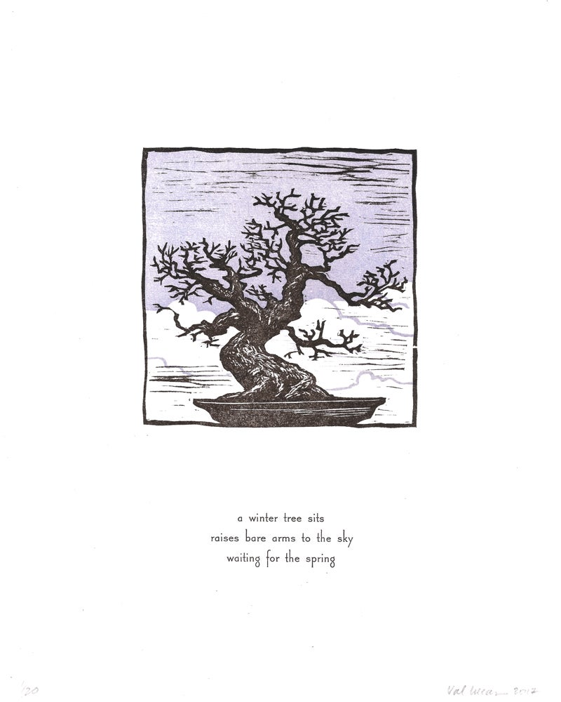 Image of Winter Bonsai Print