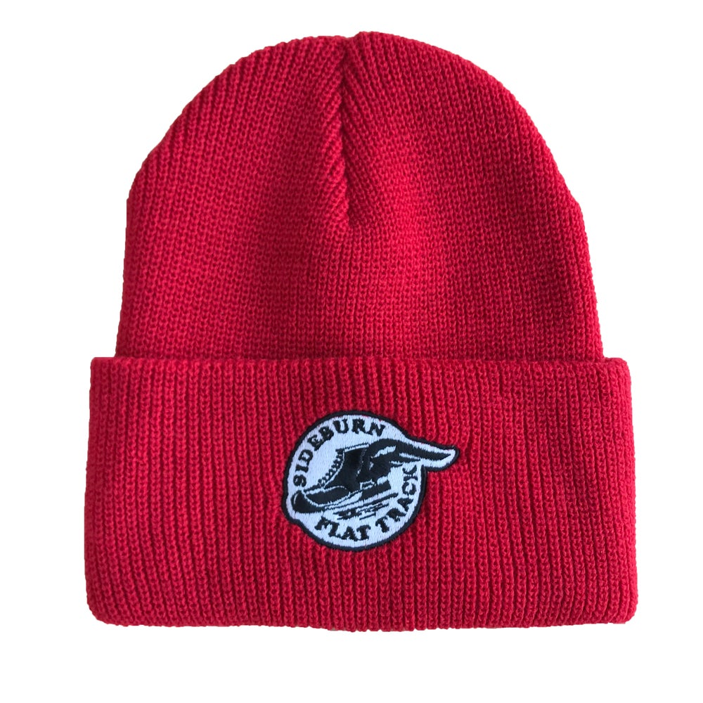 Image of Flat Track Woolie Hat - Red