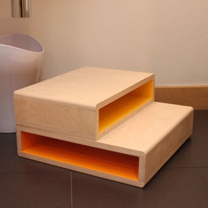 Image of StepUp | Modern 1-Kid Step Stool | Blemished