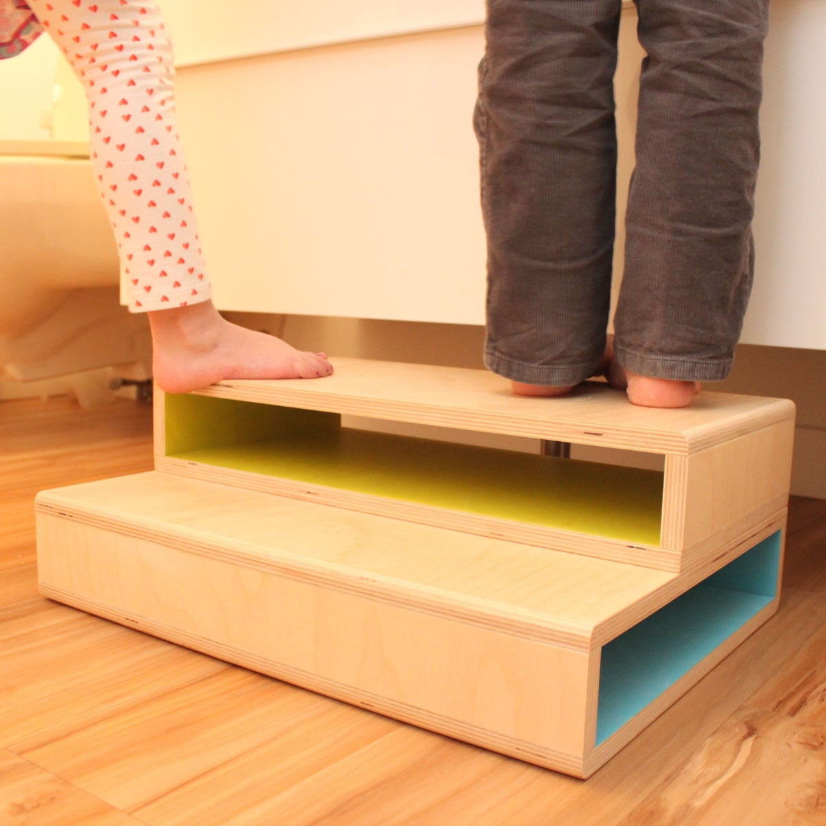 Image of StepUp II | Modern 2-Kid Step Stool | Blemished