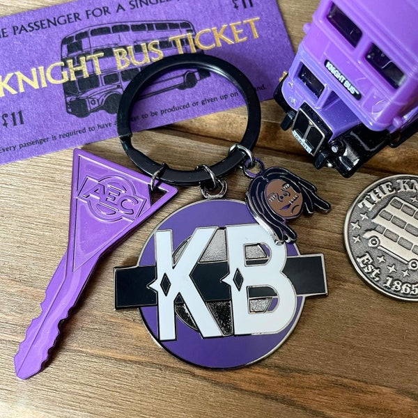 Image of Emergency Bus Key and Keychain