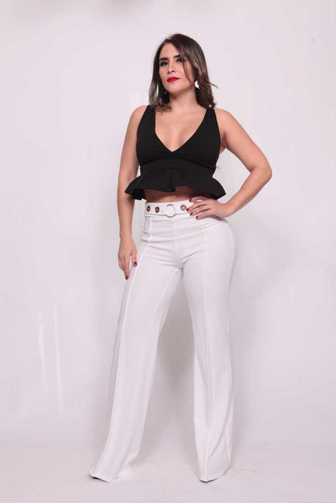 Image of Pantalon Blanco