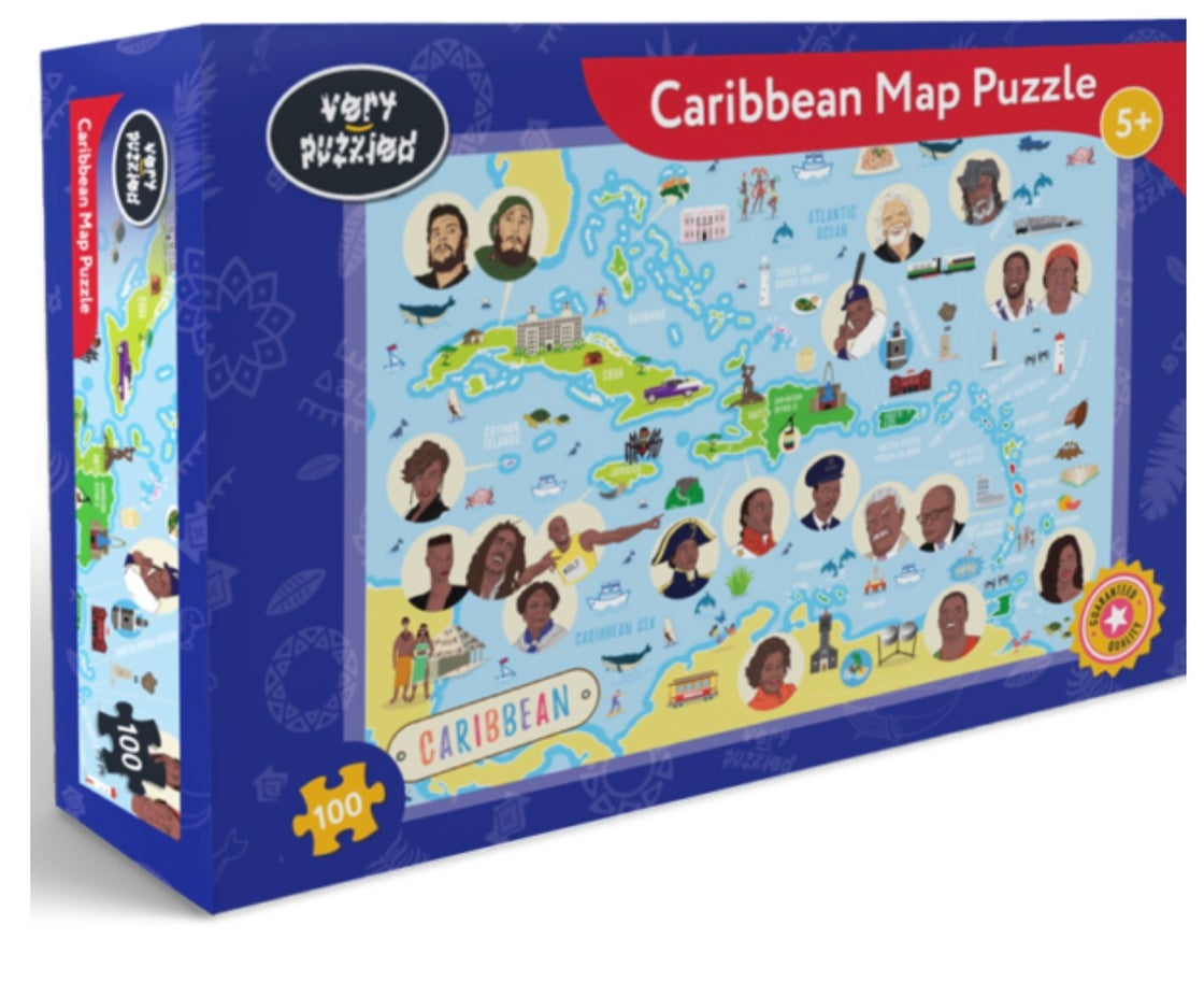 Image of Caribbean Map Puzzle