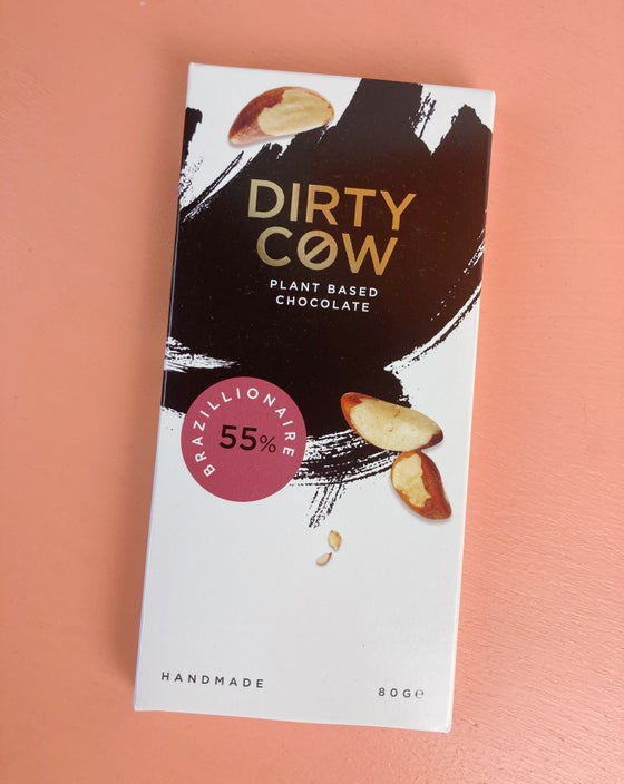 Image of Dirty Cow Vegan Chocolate - Brazillionaire