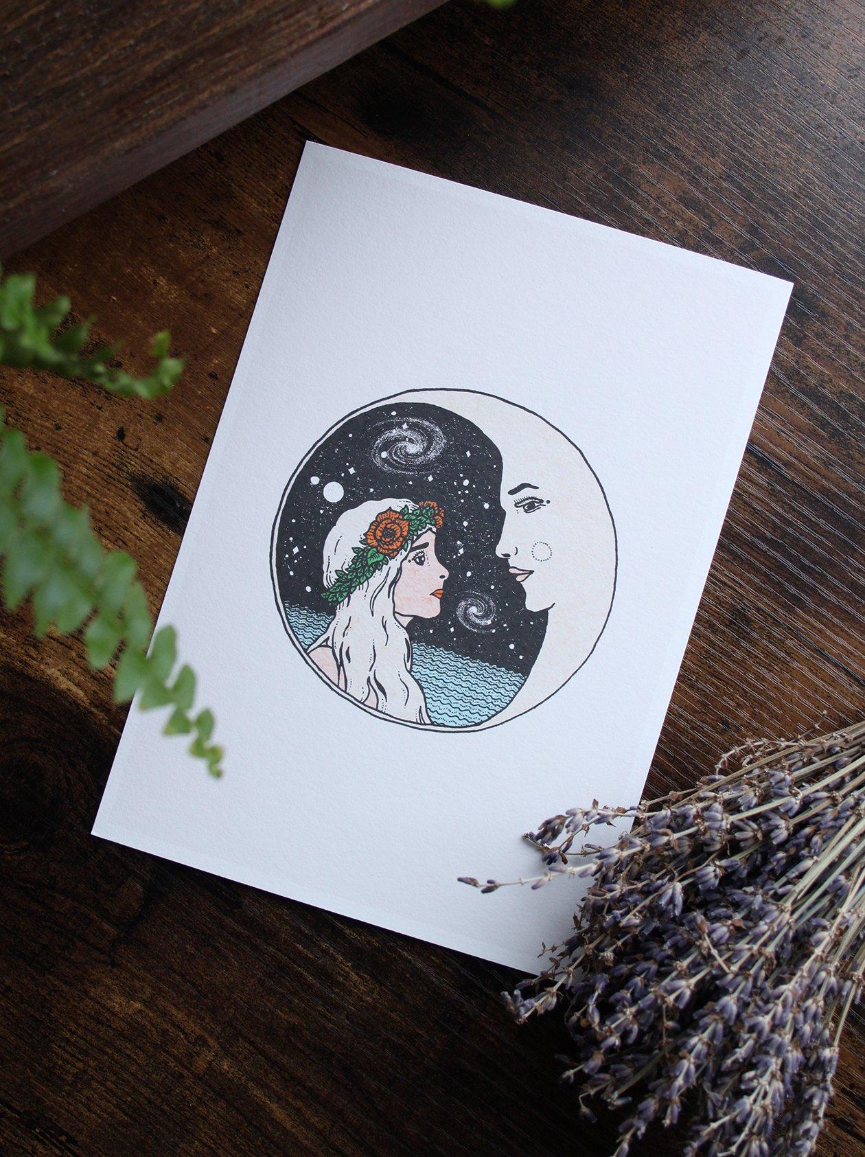 Image of Luna (A5/Giclee)