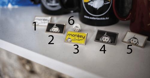 Image of Monkey Climber Pin Badges I 7 new styles