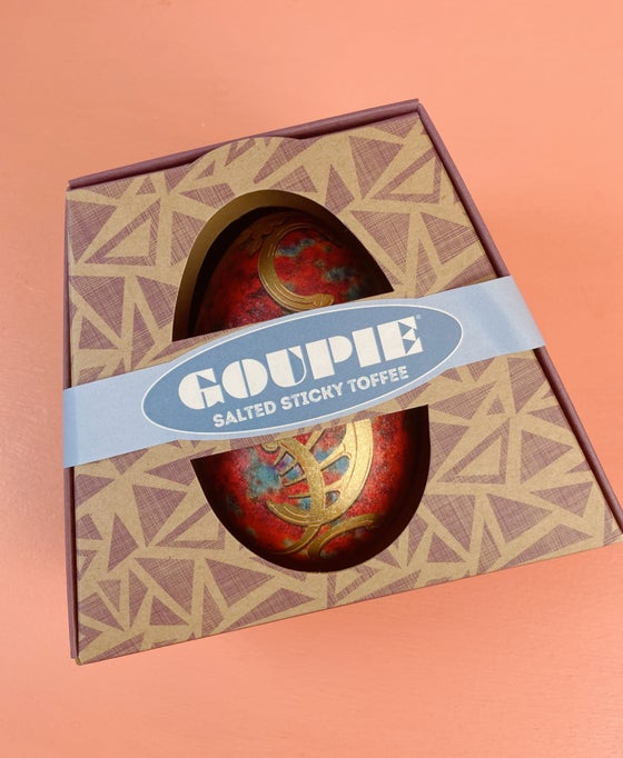 Image of Goupie Vegan Easter Egg - Salted Sticky Toffee