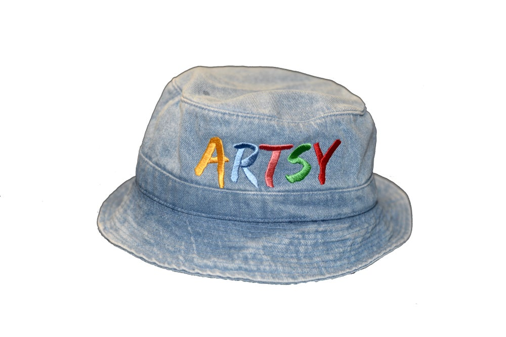 Image of Artsy Denim Bucket Hat