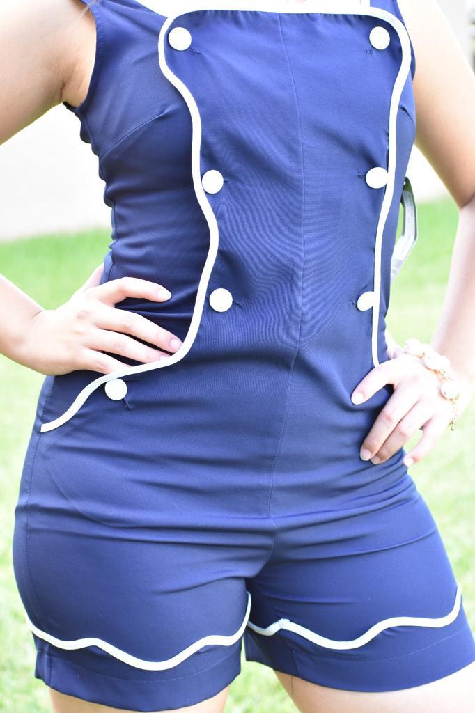 Image of Jumpsuit Blue