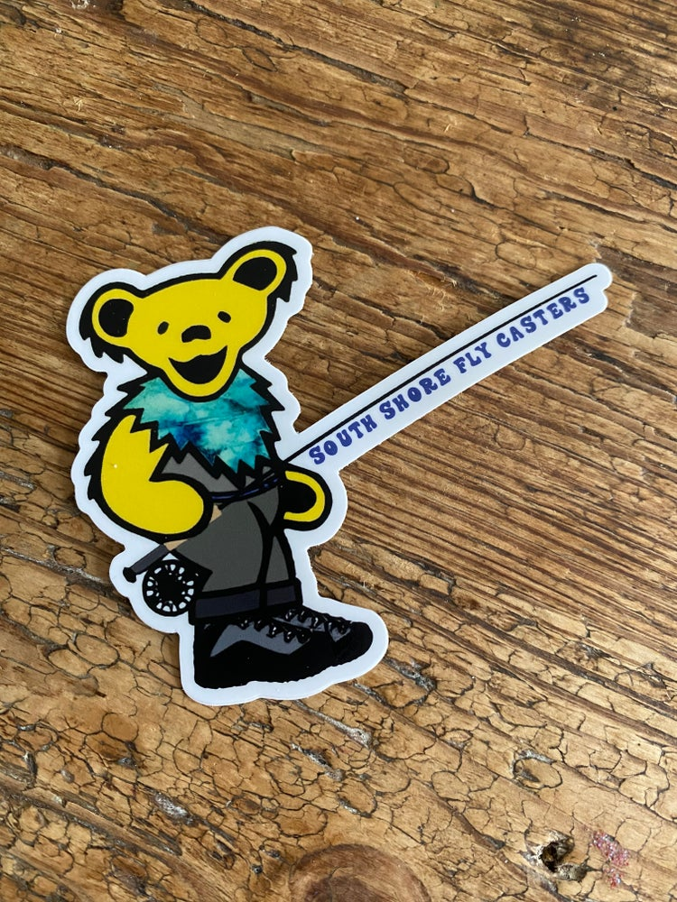 Image of Fly Bear Sticker
