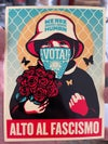 """Stop Fascism"" Vinyl Stickers - SPANISH (5 pack)"