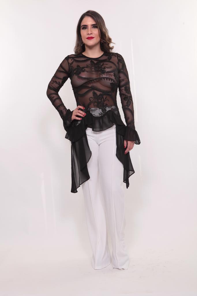 Image of Blusa Black