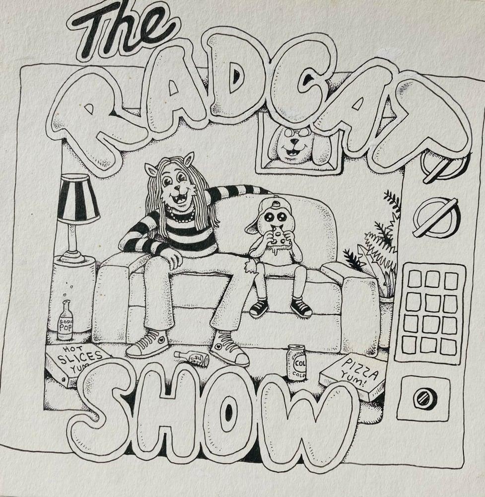 Image of The Rad Cat Show Art