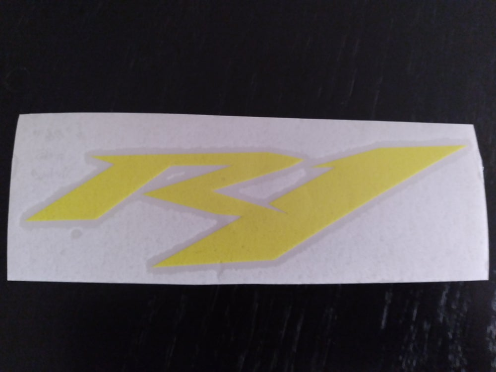 Yamaha R1 Decals