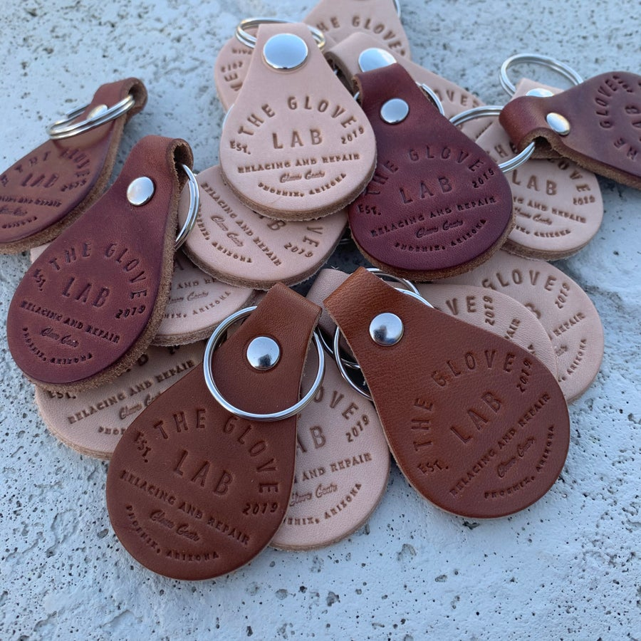 Image of Leather Keychain