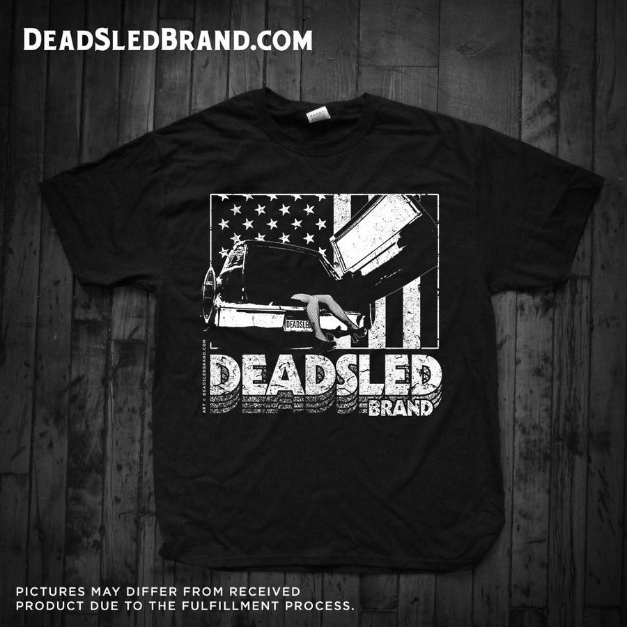 Image of Dead Sled classic Grindhouse Uisex Tee
