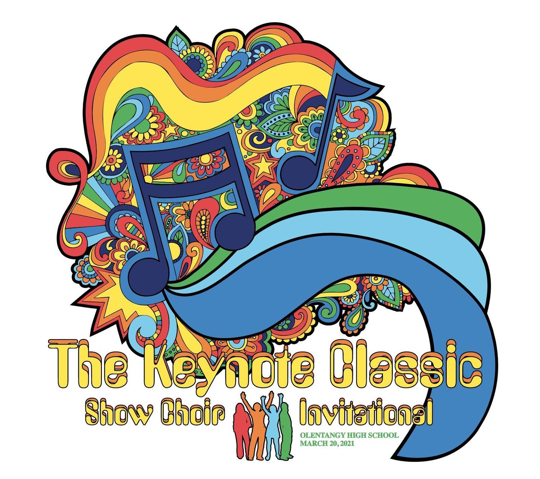 Image of The Keynote Classic Show Choir Invitational 2021 Tee