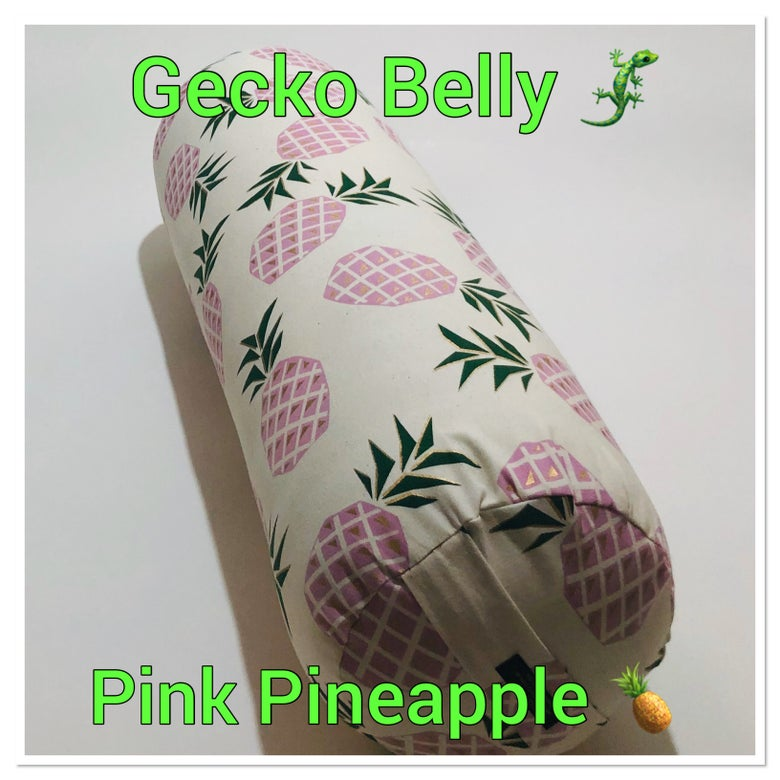 Image of Pink Pineapples Bolster