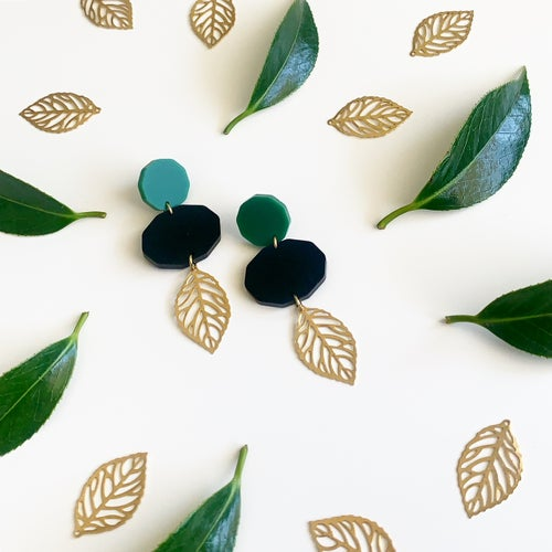Image of Forest Leaf Dangles