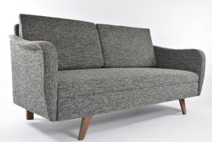 Image of Daybed bouclette N&B